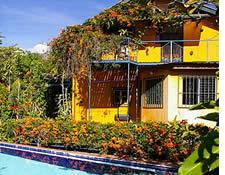 Pension Topas en centre ville de Boquete, Panama